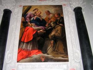 Carpoforo Tencalla, Madonna con Bambino tra santi